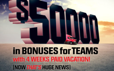 Huge News: Teams Can Earn up to $50,000 in Bonuses!