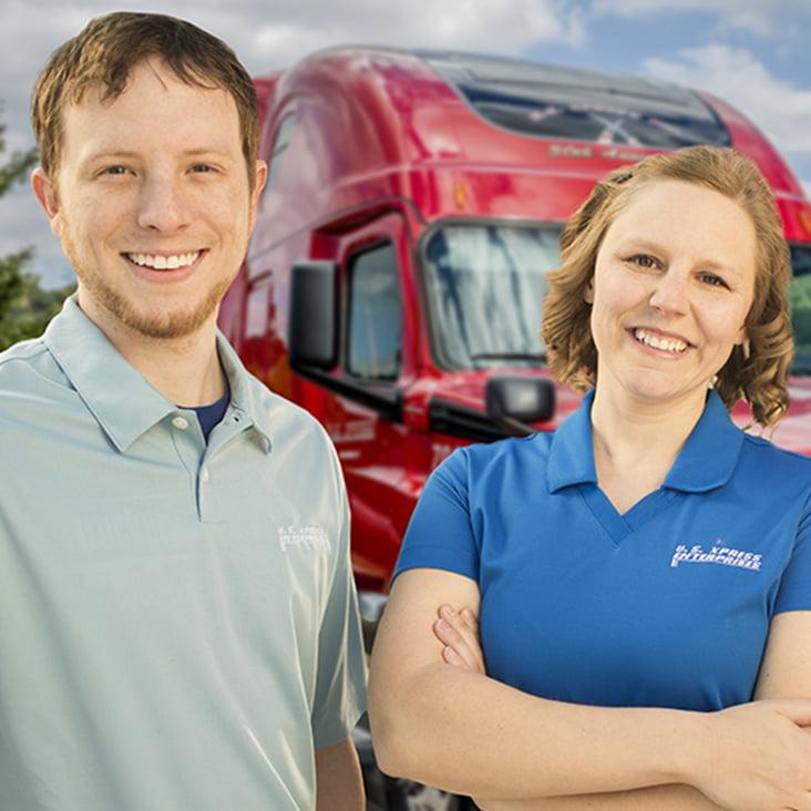 team truck driving vs solo